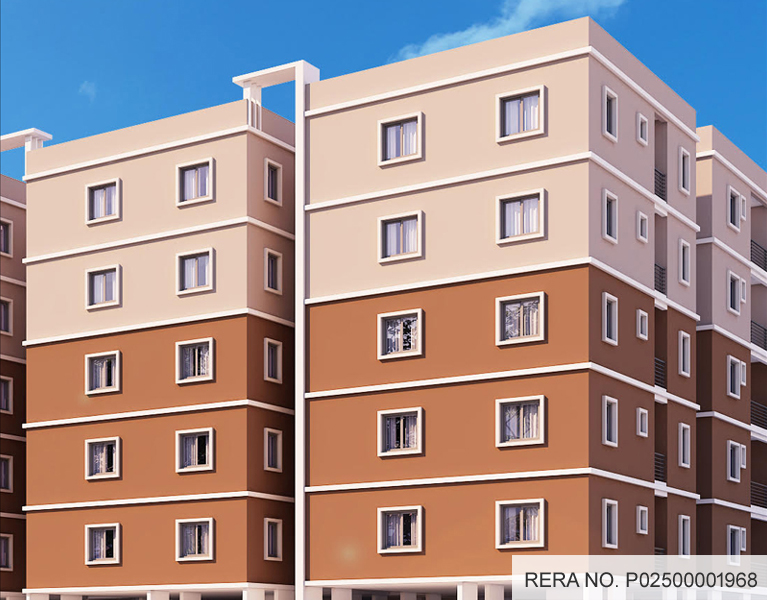 Flats for sale in Kowkur, 2/3 BHK Apartments in Kowkur