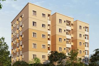 Flats for sale in Sainikpuri, 1/2 BHK Apartments in Sainikpuri